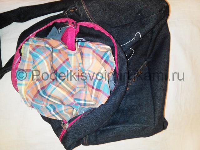 Шьём рюкзак из джинсовой ткани - фото 17.