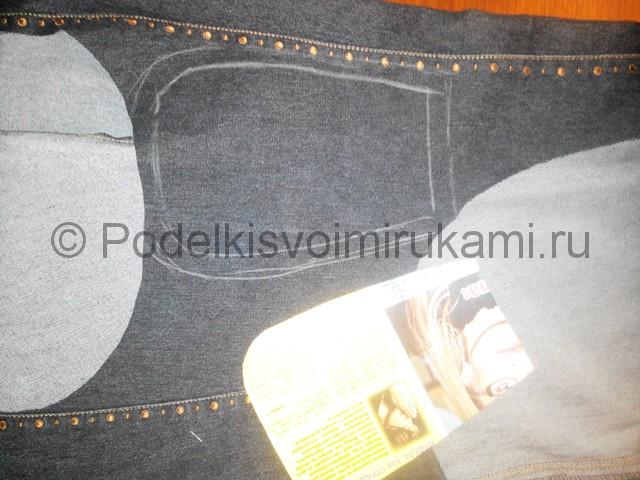Шьём рюкзак из джинсовой ткани - фото 2.
