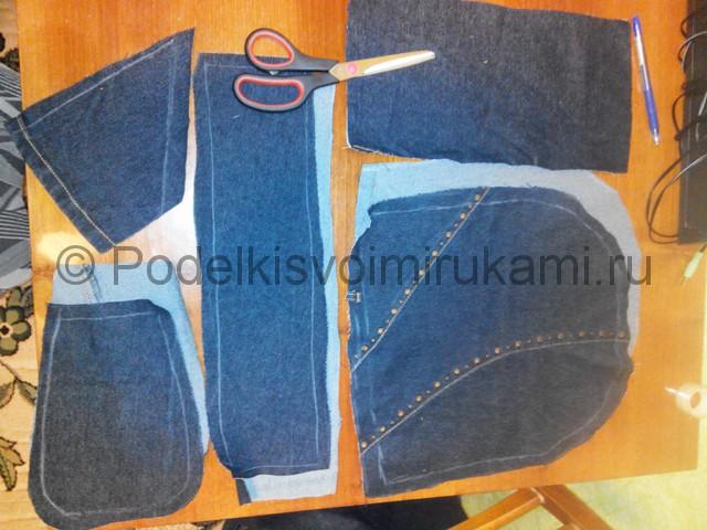 Шьём рюкзак из джинсовой ткани - фото 3.