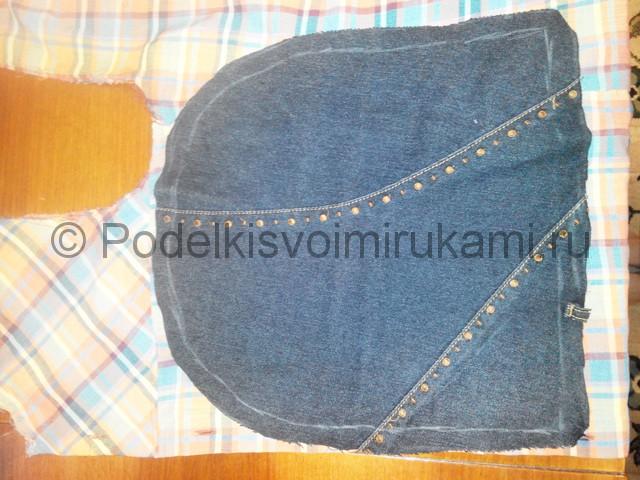 Шьём рюкзак из джинсовой ткани - фото 4.