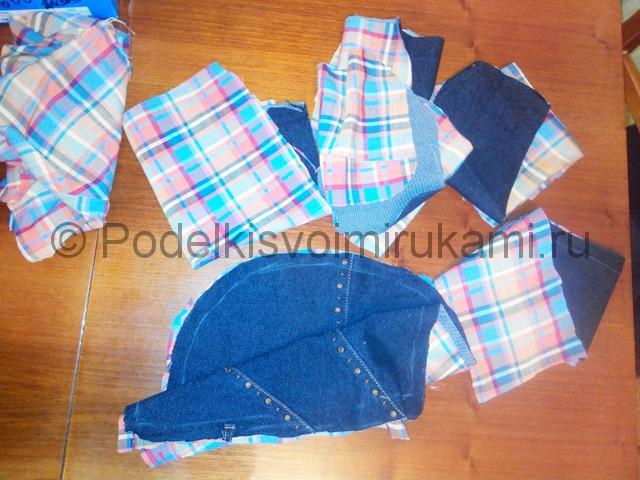 Шьём рюкзак из джинсовой ткани - фото 5.