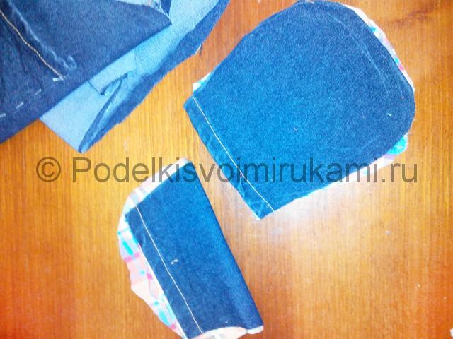 Шьём рюкзак из джинсовой ткани - фото 6.