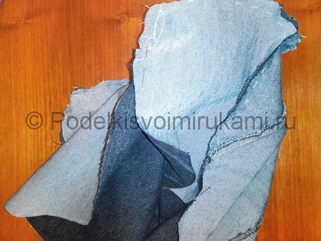 Шьём рюкзак из джинсовой ткани - фото 8.