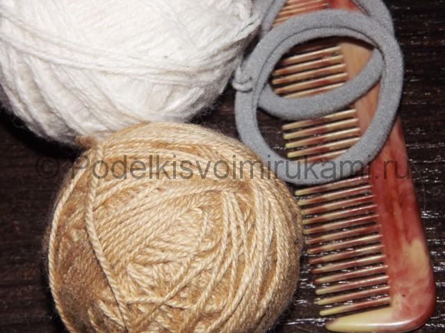 Плетение косичка для девочек «Рыбий хвостик» - фото 1.