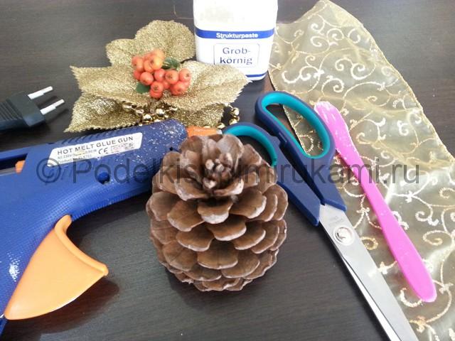 Изготовление новогоднего сундучка - фото 2.