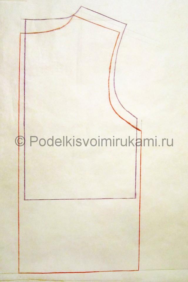 Пошив жилетки для девочки - фото 1.
