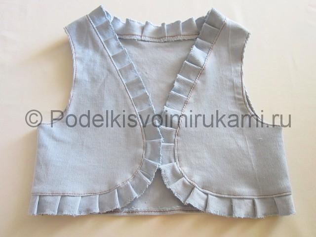 Пошив жилетки для девочки - фото 11.