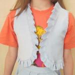 Пошив жилетки для девочки.