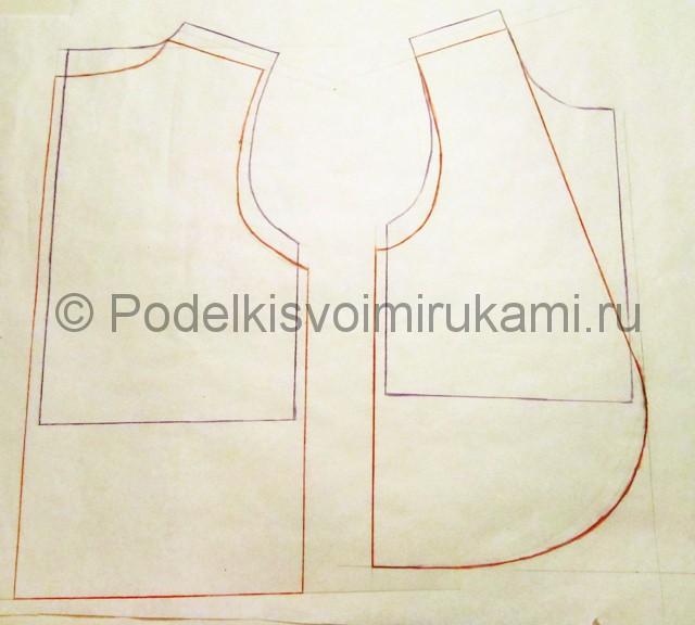 Пошив жилетки для девочки - фото 2.