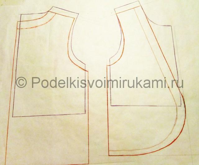 Пошив жилетки для девочки - фото 3.