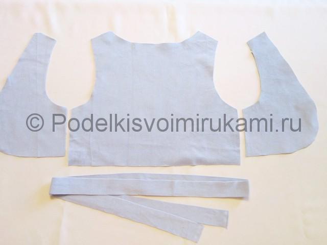 Пошив жилетки для девочки - фото 4.