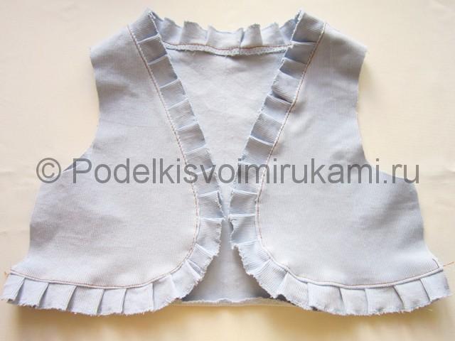 Пошив жилетки для девочки - фото 9.