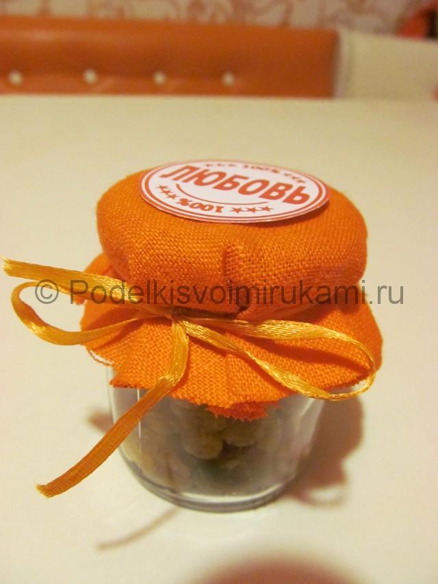 Изготовление оригинальной свадебной бонбоньерки - фото 10.