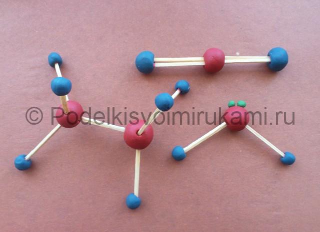 Лепка молекул из пластилина - фото 11.