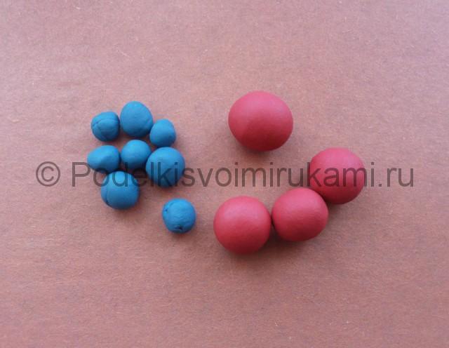 Лепка молекул из пластилина - фото 2.