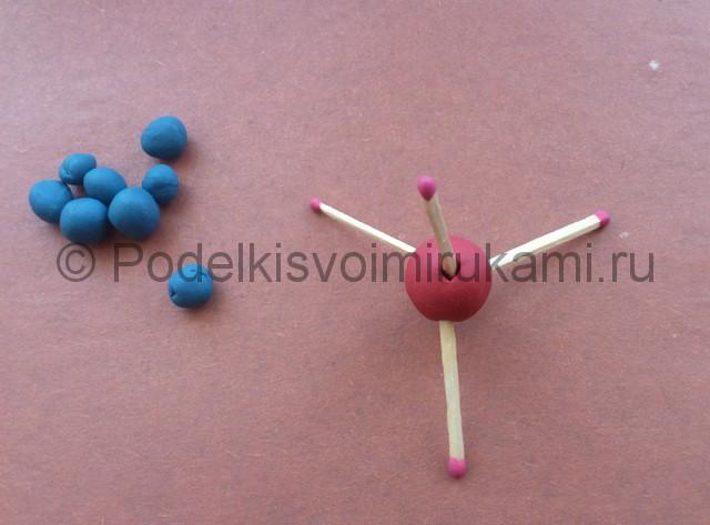 Лепка молекул из пластилина - фото 3.