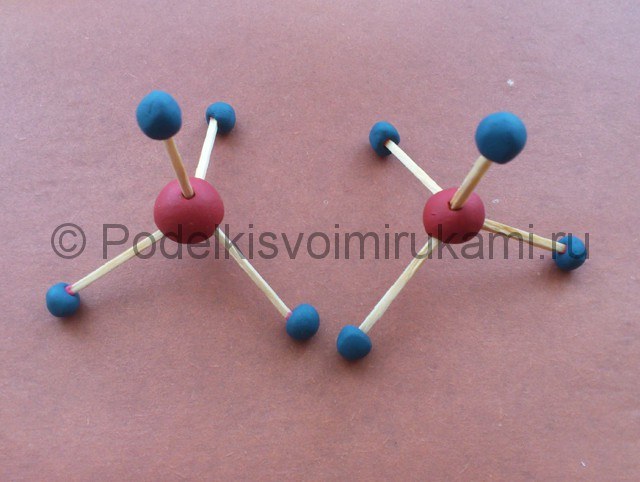 Модель атома сделать своими руками 38