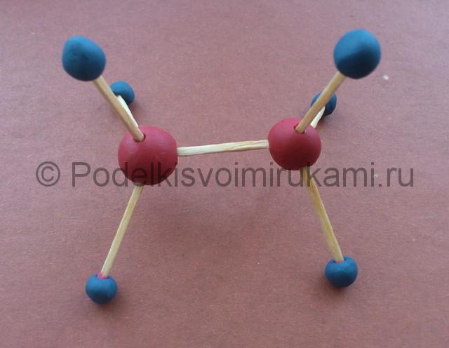 Лепка молекул из пластилина - фото 6.