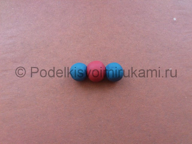 Лепка молекул из пластилина - фото 8.