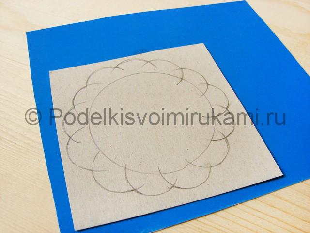 Делаем пион из гофрированной бумаги - фото 2.