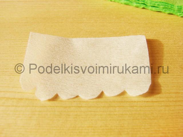 Изготовление подснежников из бумаги - фото 10.