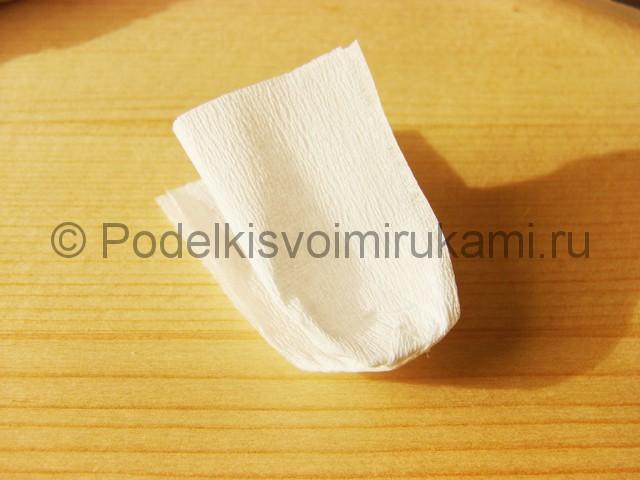 Изготовление подснежников из бумаги - фото 17.
