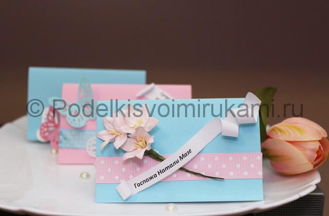 Изготовление посадочных карточек для гостей - фото 10.