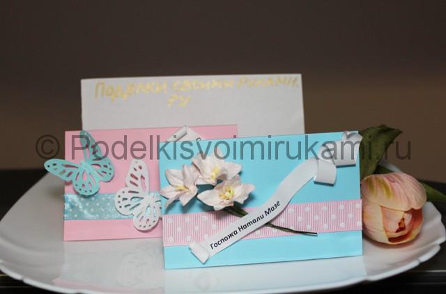 Изготовление посадочных карточек для гостей - фото 11.