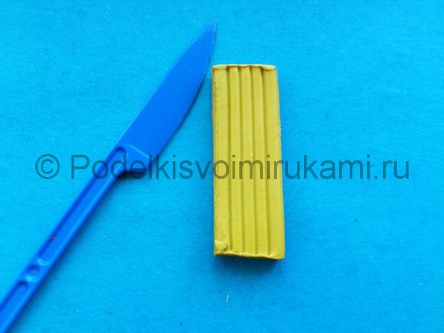 Лепка солнышка с лучиками из пластилина - фото 1.