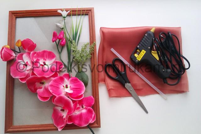 """Создаем панно """"Орхидея"""" для декорирования комнаты - фото 1."""