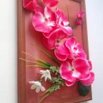 """Панно """"Орхидея"""" для декорирования комнаты."""