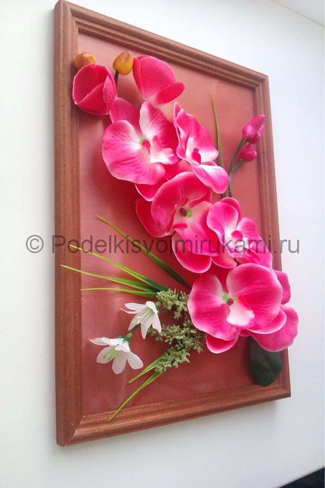 """Создаем панно """"Орхидея"""" для декорирования комнаты - фото 10."""