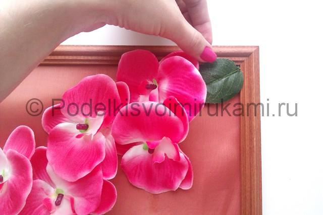 """Создаем панно """"Орхидея"""" для декорирования комнаты - фото 5."""