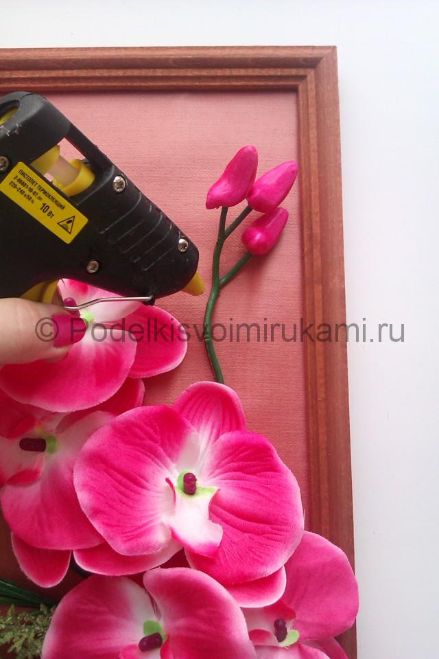 """Создаем панно """"Орхидея"""" для декорирования комнаты - фото 6."""