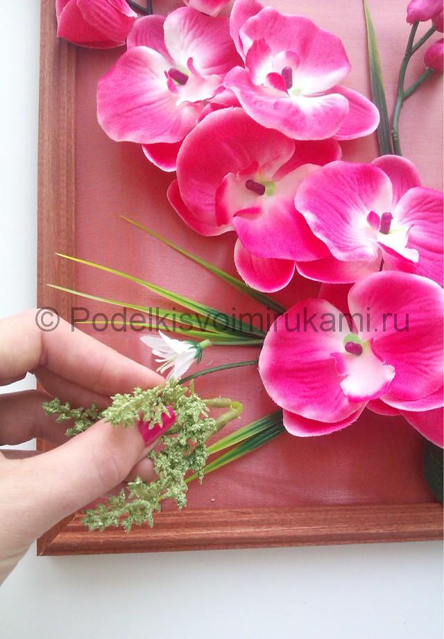 """Создаем панно """"Орхидея"""" для декорирования комнаты - фото 7."""