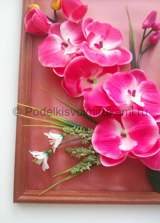 """Создаем панно """"Орхидея"""" для декорирования комнаты - фото 8."""