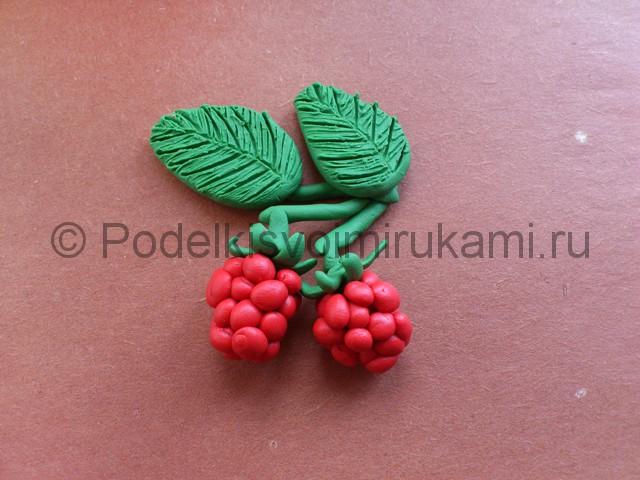 Лепка ягод из пластилина - фото 10.