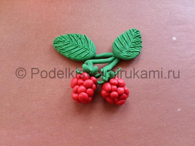 Лепка ягод из пластилина - фото 11.