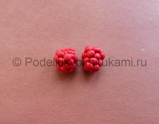 Лепка ягод из пластилина - фото 6.