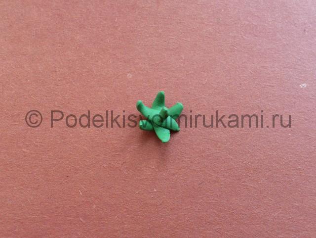 Лепка ягод из пластилина - фото 8.