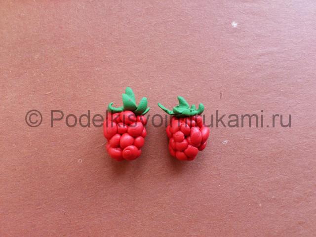 Лепка ягод из пластилина - фото 9.