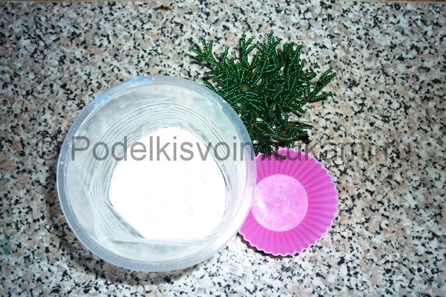 Изготовление ёлки из бисера - фото 20.