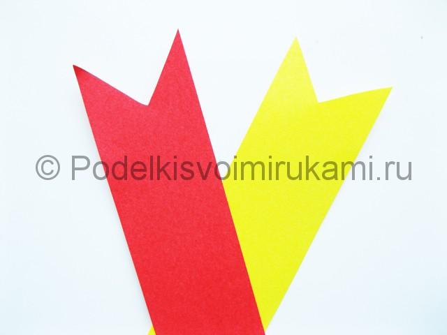 Изготовление черепашек ниндзя из цветной бумаги - фото 7.
