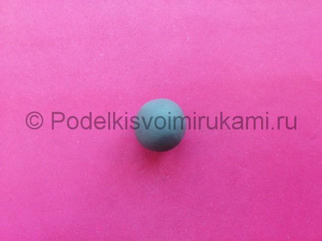 Лепка журавля из пластилина - фото 2.