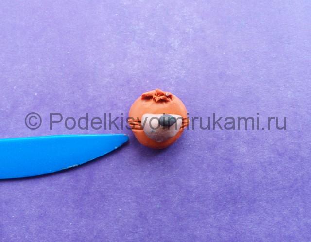 Лепка Фокси из пластилина - фото 3.