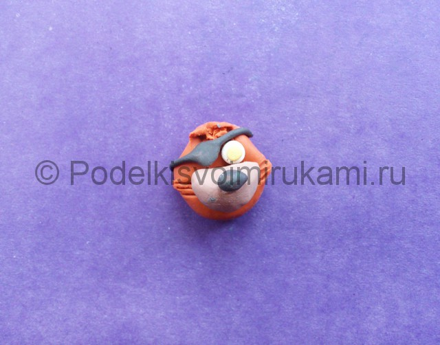 Лепка Фокси из пластилина - фото 4.