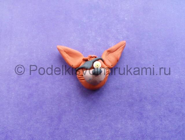Лепка Фокси из пластилина - фото 5.