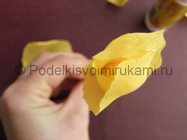 Изготовление ириса из бумаги - фото 13.