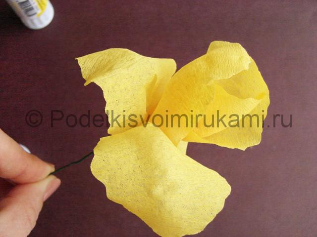 Изготовление ириса из бумаги - фото 16.
