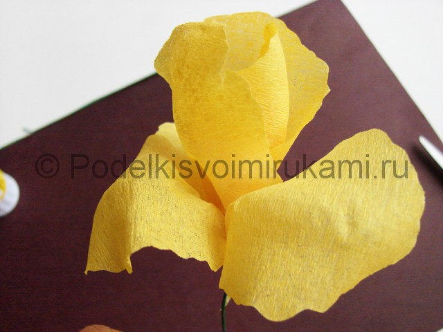 Изготовление ириса из бумаги - фото 17.